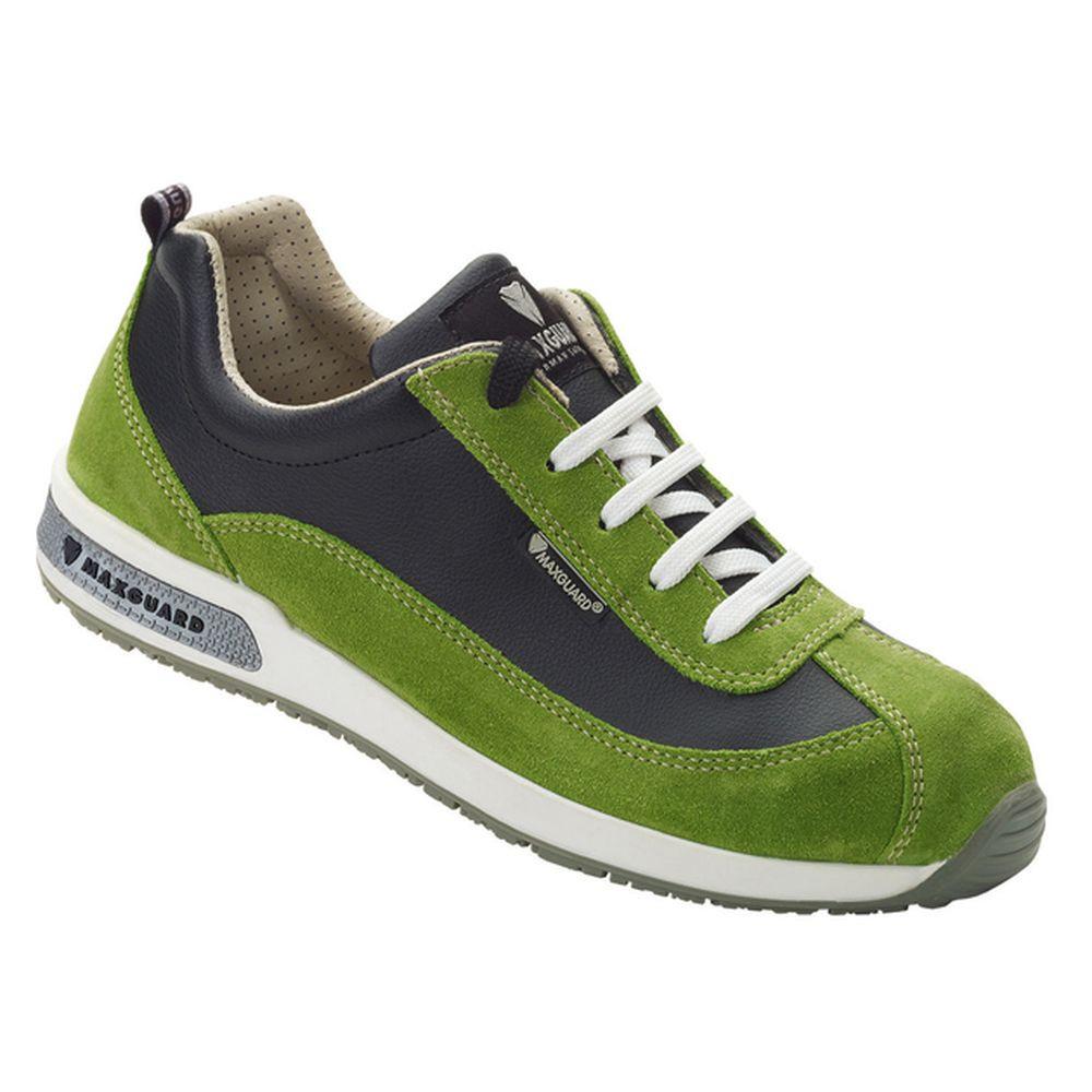 Chaussures de sécurité basses femme Maxguard S1 ESD - Vert