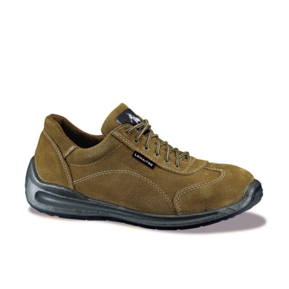 Chaussures de sécurité basses Lemaitre Viper S3 CI SRC - Marron