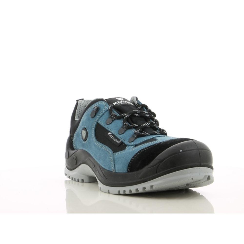 Chaussures de sécurité basses Maxguard ELWOOD E310 S1P SRC - Noir / Bleu