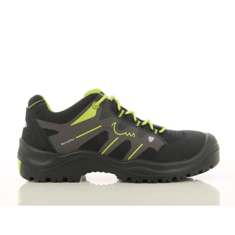 Chaussures de sécurité basses Maxguard SX 300 S3 HRO SRC HI CI WR - Noir / Vert