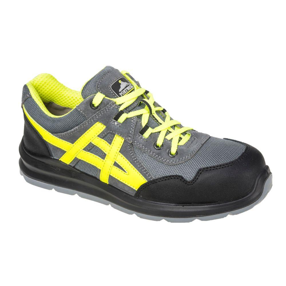 Chaussures de sécurité basses Portwest Mersey Steelite S1 - Gris