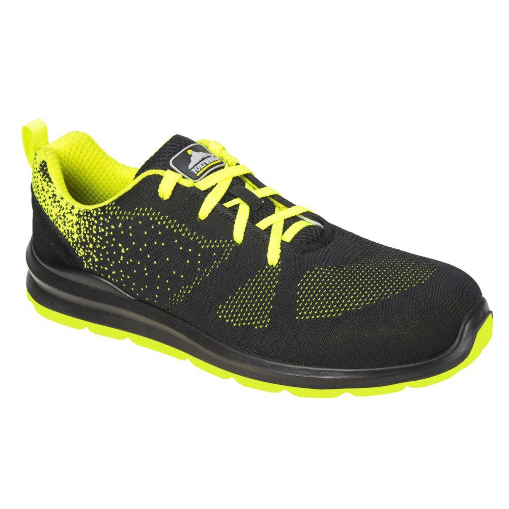Chaussures de sécurité basses Portwest Steelite Aire S1P - Noir / Vert