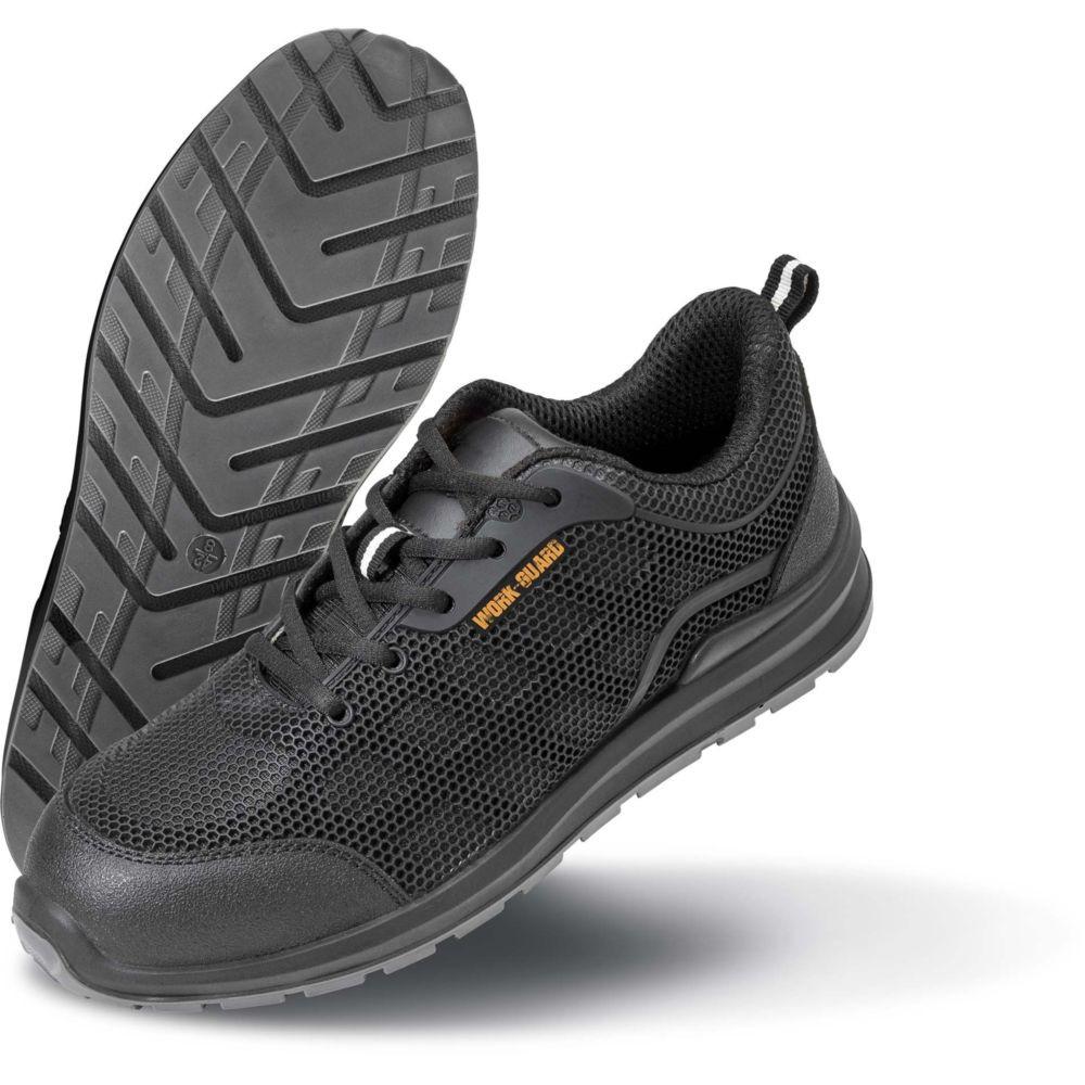 Chaussures de sécurité basses Result SAFETY TRAINER SB SRA - Noir