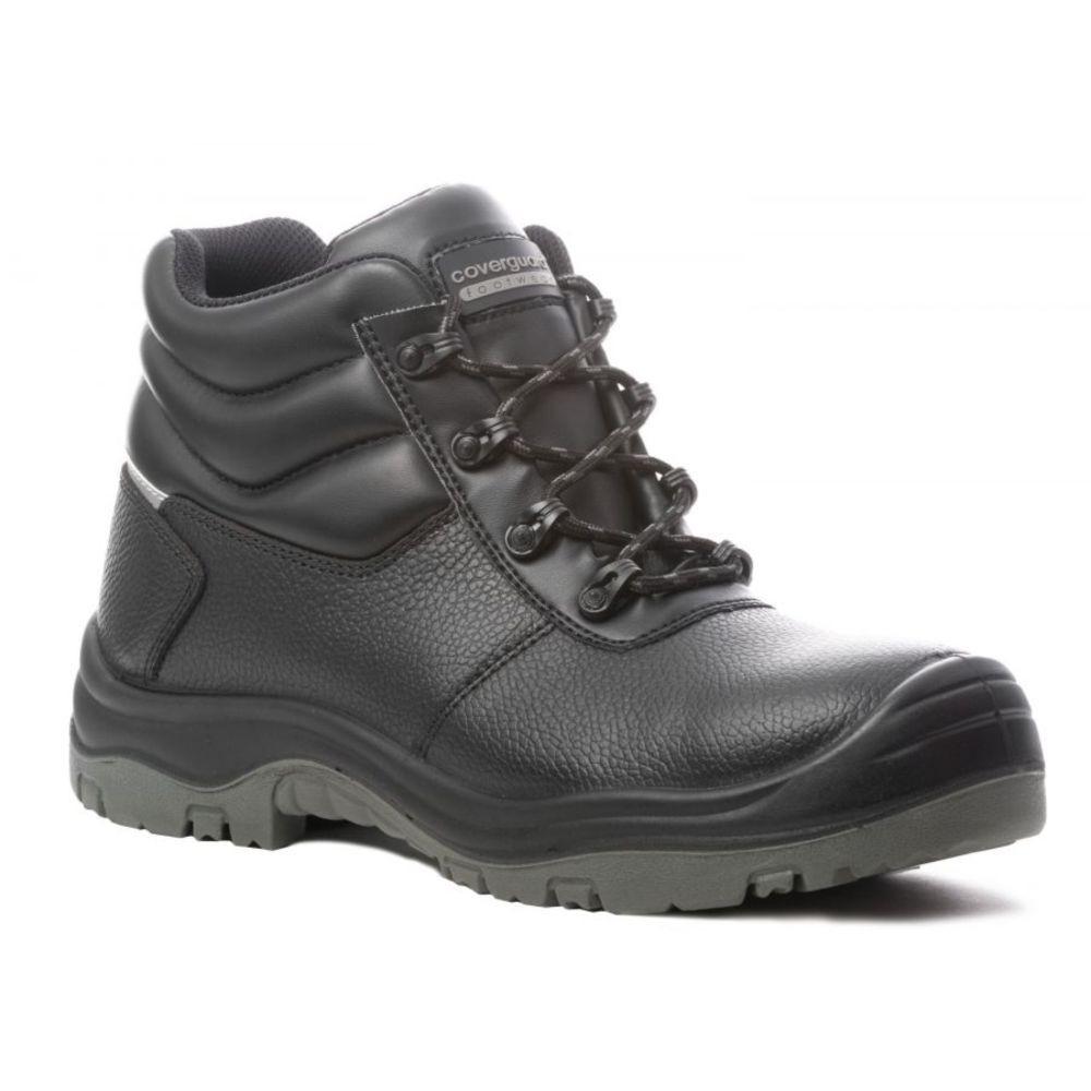 Chaussures de sécurité montantes Coverguard Freedite S3 SRC 100% non métalliques - Noir