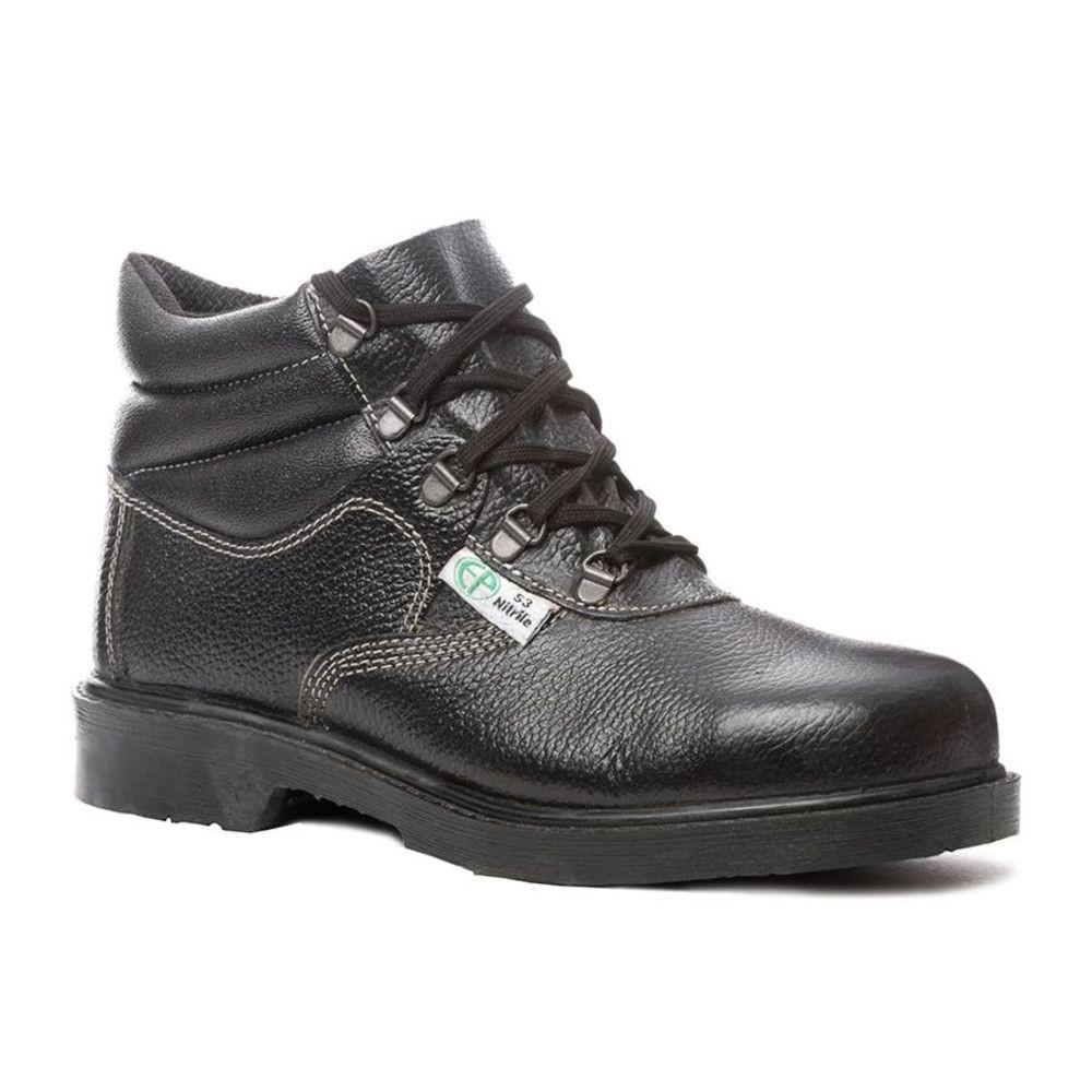 Chaussures de sécurité montantes Coverguard Volcanite S3 HRO SRA - Noir
