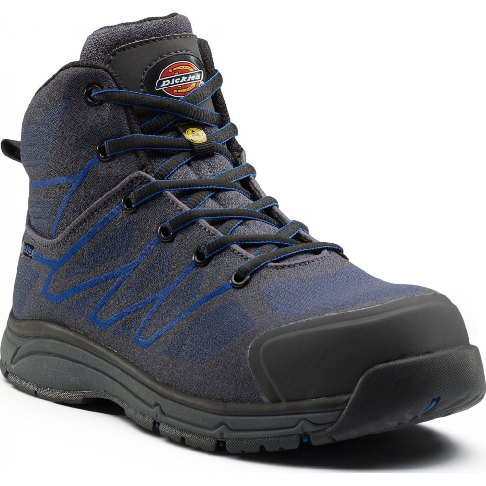 Chaussure de sécurité montante Dickies Liberty S1P SRC ESD 100% sans métal - Gris Marine