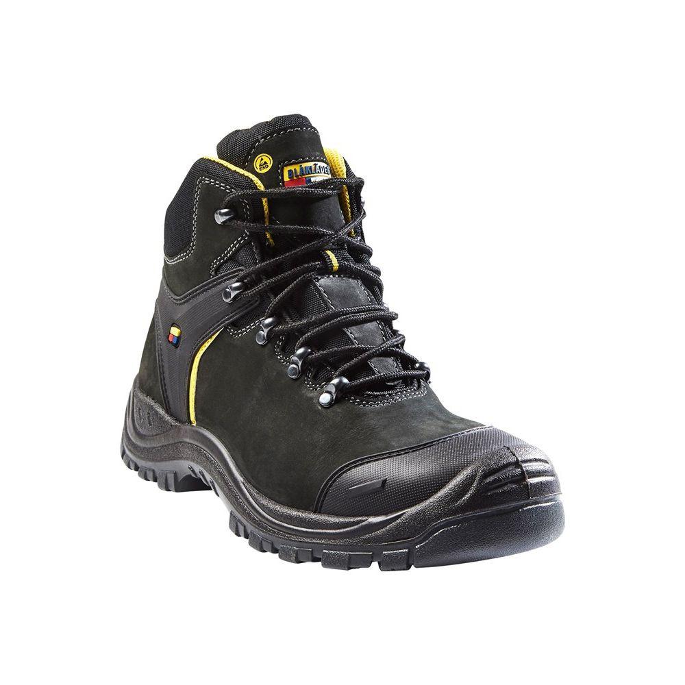 Chaussures de sécurité Blaklader S3 SRC 200J Hiver T.U.K. Shoes Men's Black White Leather Wingtip Viva High Sole Creeper EU46 / UKM12 tHQGRxV