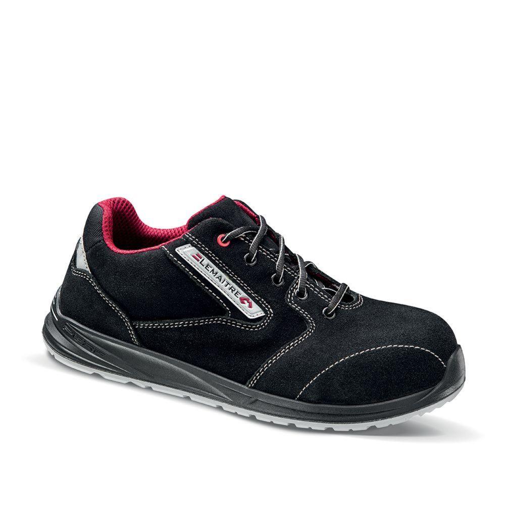 Chaussures de sécurité Lemaitre MASTER S3 ESD - Noir / Rouge