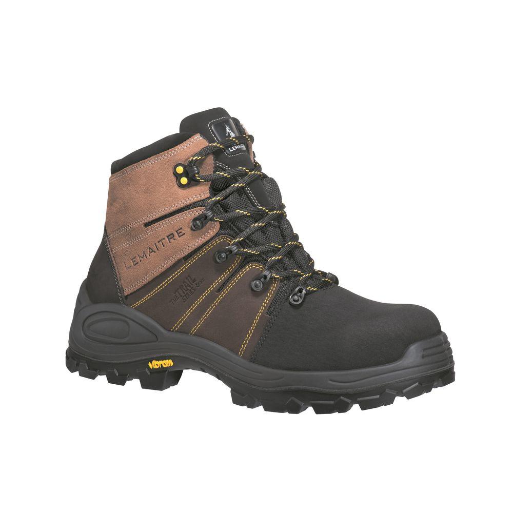 Chaussures de sécurité Lemaitre Trek Brun S3 CI SRC 100% non métalliques