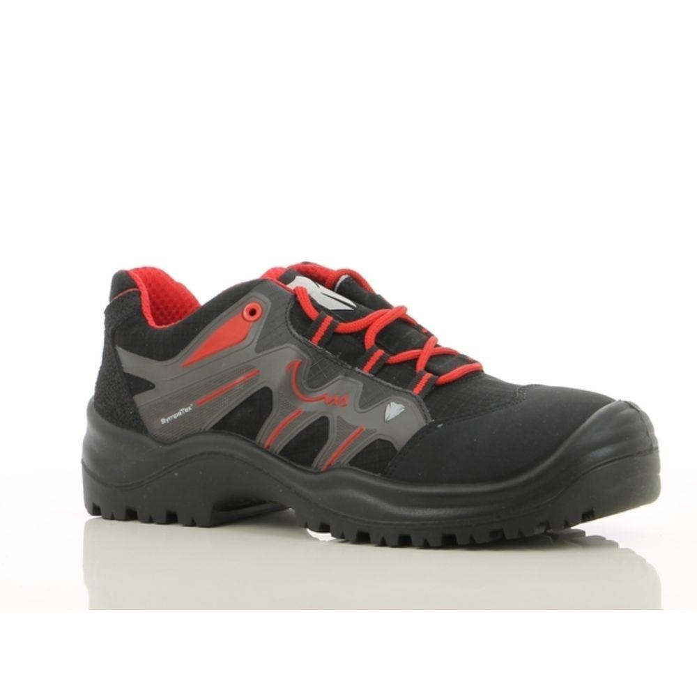 Chaussures de sécurité membranées Maxguard SX310 S3 SRC HRO - Noir / Rouge