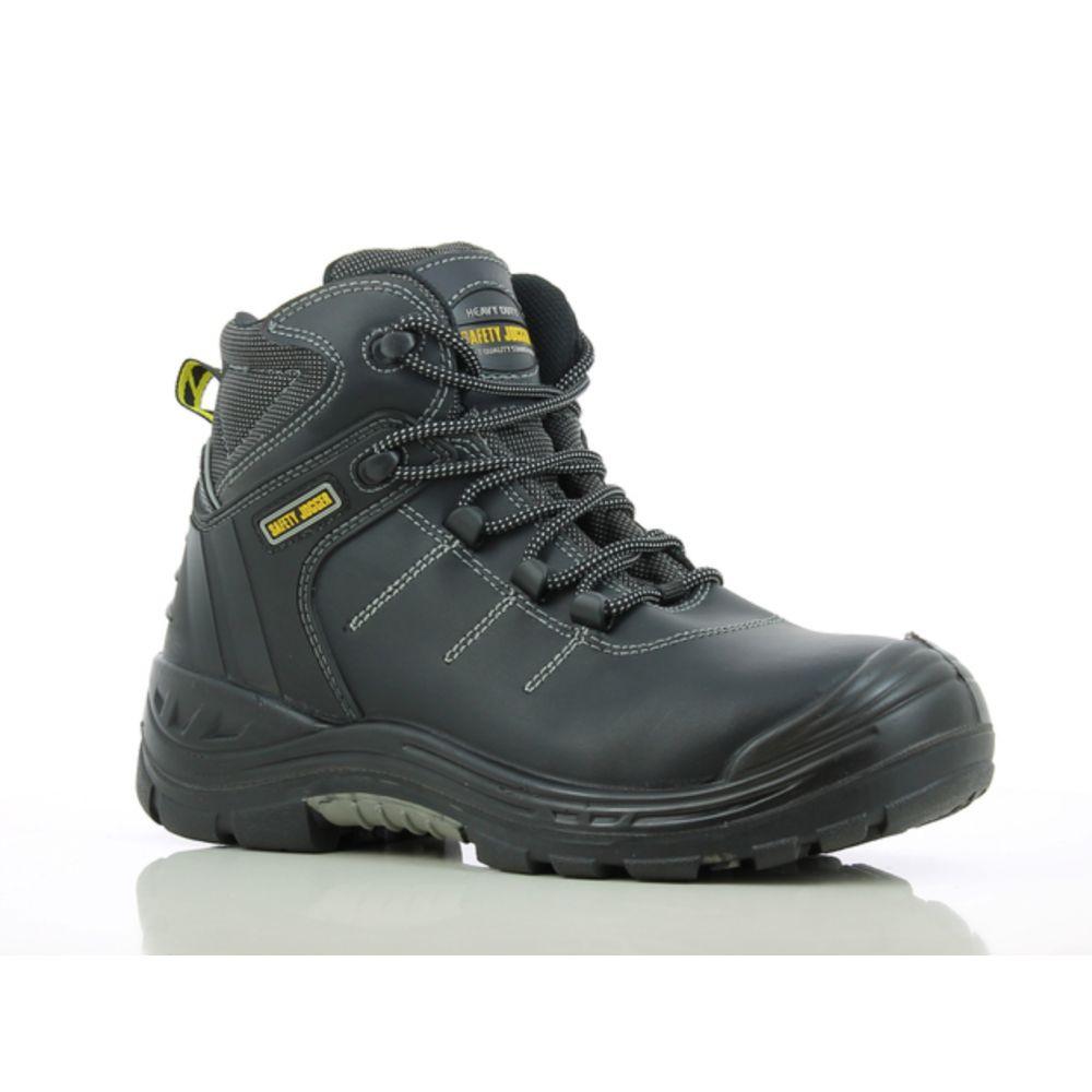 Chaussures de sécurité montantes 100% non métalliques Safety Jogger Power2 S3 HRO HI - Noir
