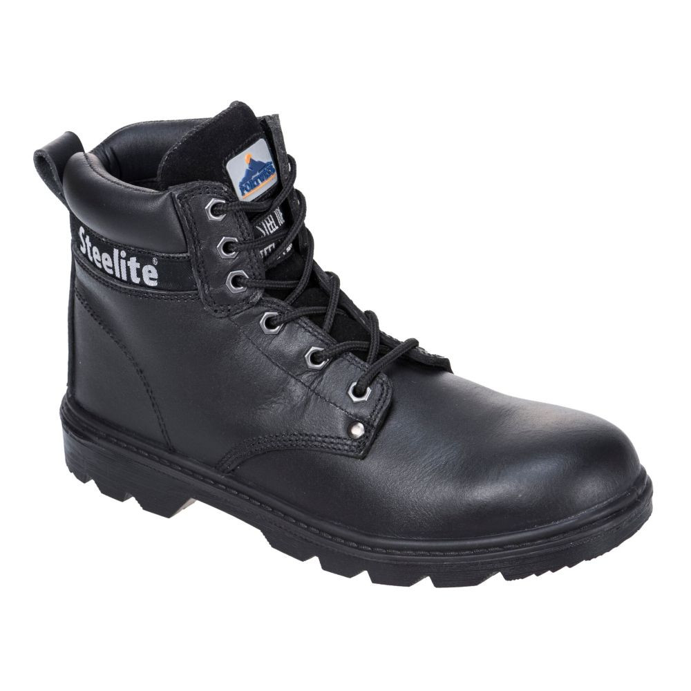 Chaussures de sécurité montantes Brodequin Portwest Thor S3 Steelite - Noir