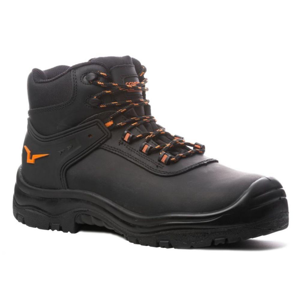 Chaussures de sécurité montantes Coverguard Opal S3 SRC 100% sans métal - Noir