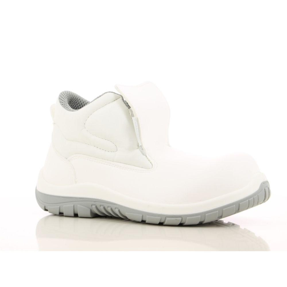 Chaussures de sécurité montantes cuisine / agroalimentaire Maxguard WILSON S2 SRC 100% non métalliques - Blanc