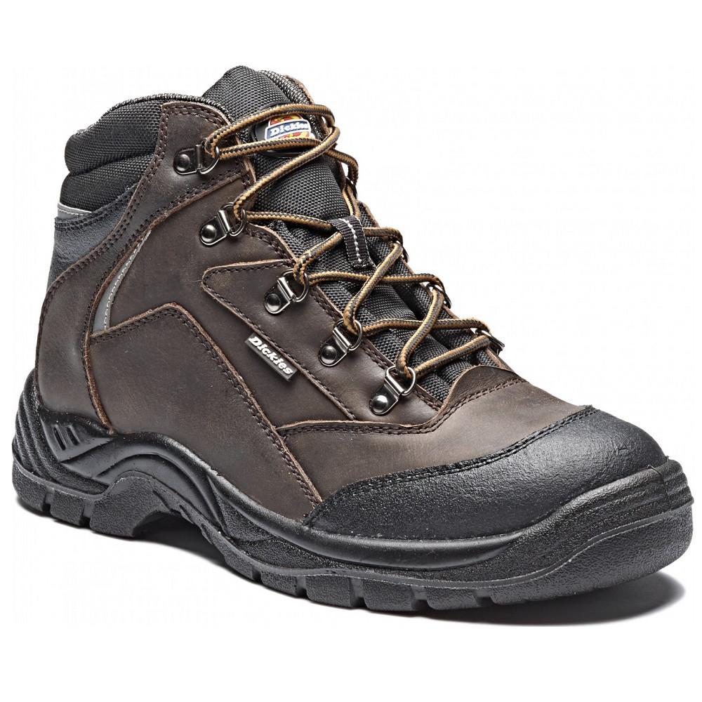 Chaussures de sécurité montantes Davant S3 SRA Dickies Marron - Chaussures de sécurité montantes Davant S3 SRA DICKIES