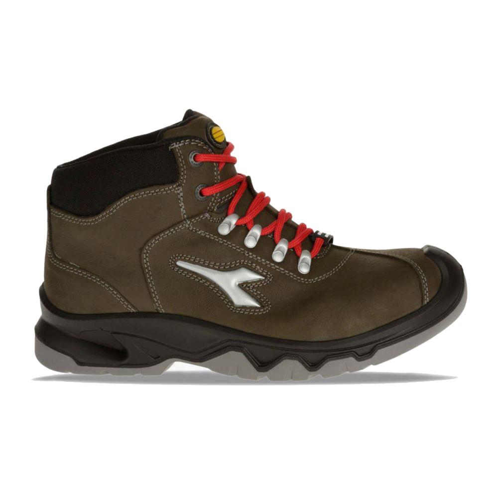 Chaussures de sécurité montantes Diadora DIABLO S3 SRC CI - Olive