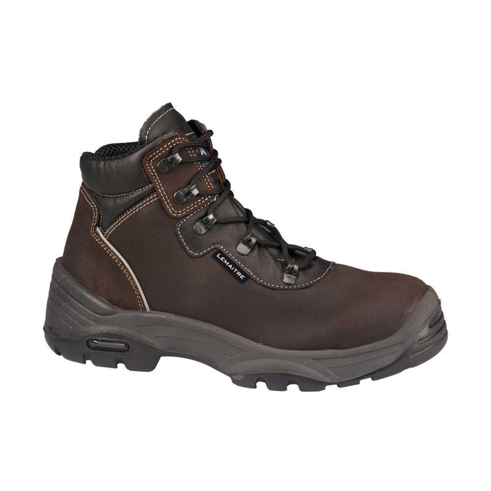 Chaussures de sécurité montantes Lemaitre Diablo S3 CI SRC - Brun