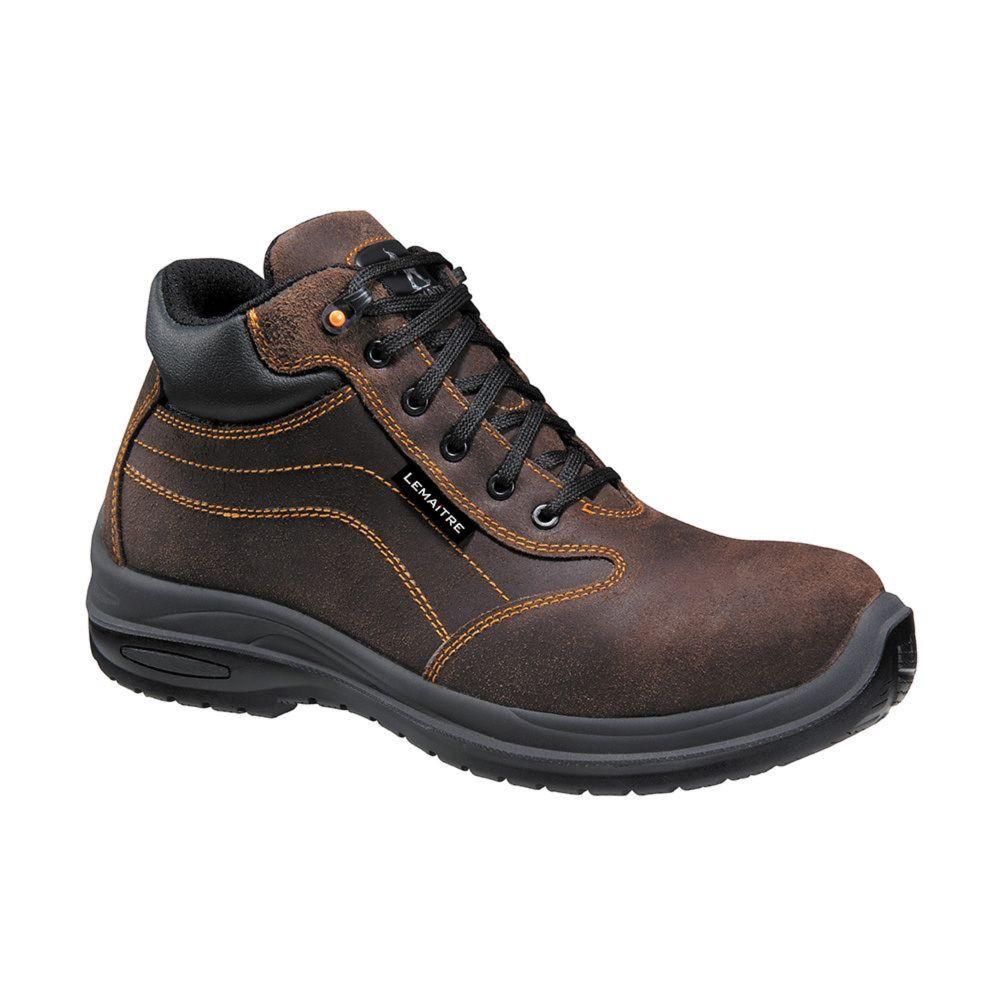 Chaussures de sécurité montantes Lemaitre Falcon S3 CI SRC 100% non métalliques - Marron