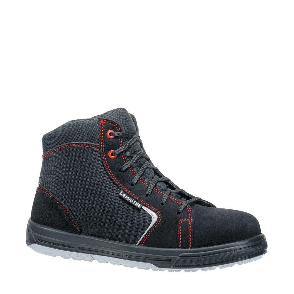 Chaussures de sécurité montantes Lemaitre Sun S1P - Noir