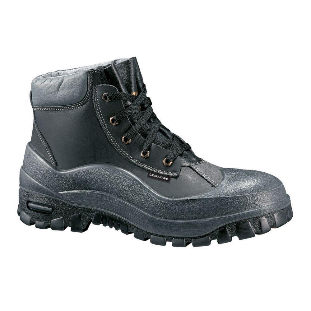 Chaussures de sécurité montantes Lemaitre WORK S3 CI SRA - Noir / Gris
