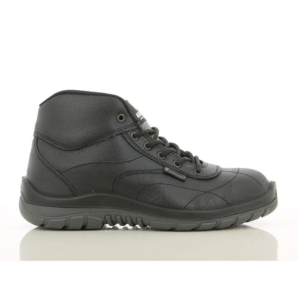 Chaussures de sécurité montantes Maxguard CALVIN S3 SRC 100% sans métal - Noir