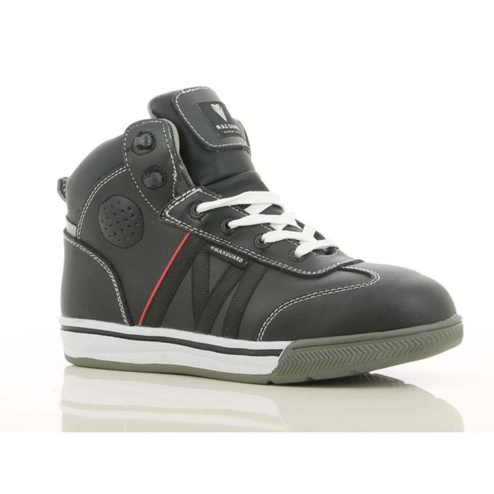 Chaussures de sécurité montantes Maxguard Shogun S3 SRC - Gris Foncé