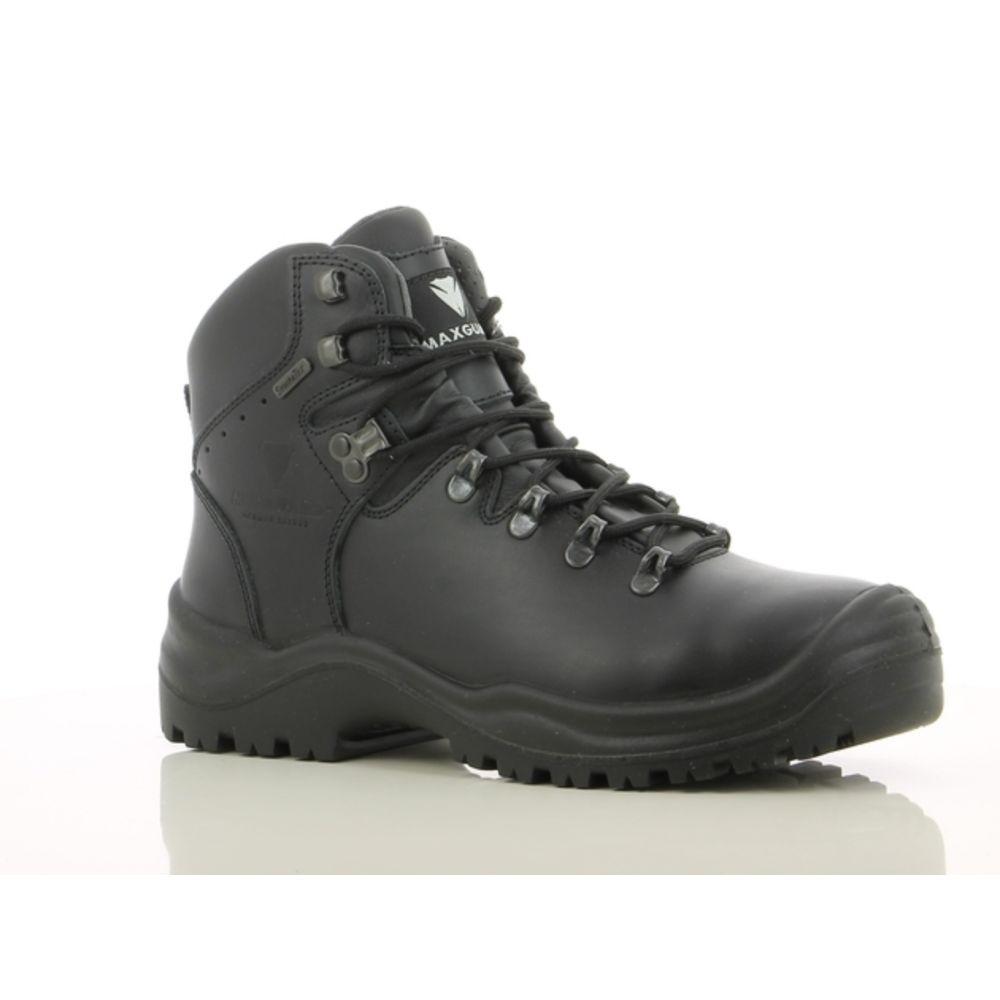 Chaussures de sécurité montantes Maxguard SX700 S3 WR HI CI HRO SRC - Noir