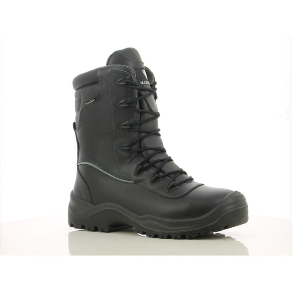 Chaussures de sécurité montantes Maxguard SX840 S3 WR HI CI HRO SRC - Noir