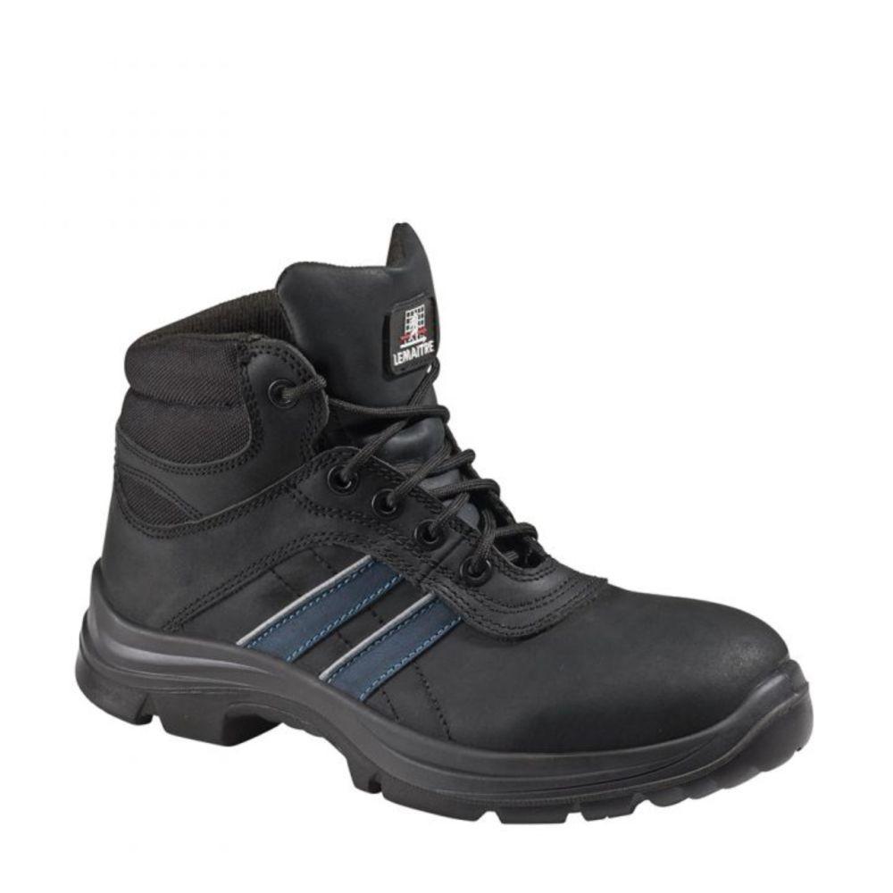 Chaussures de sécurité montantes membranées Lemaitre Andy Aqua S3 SRC - Noir