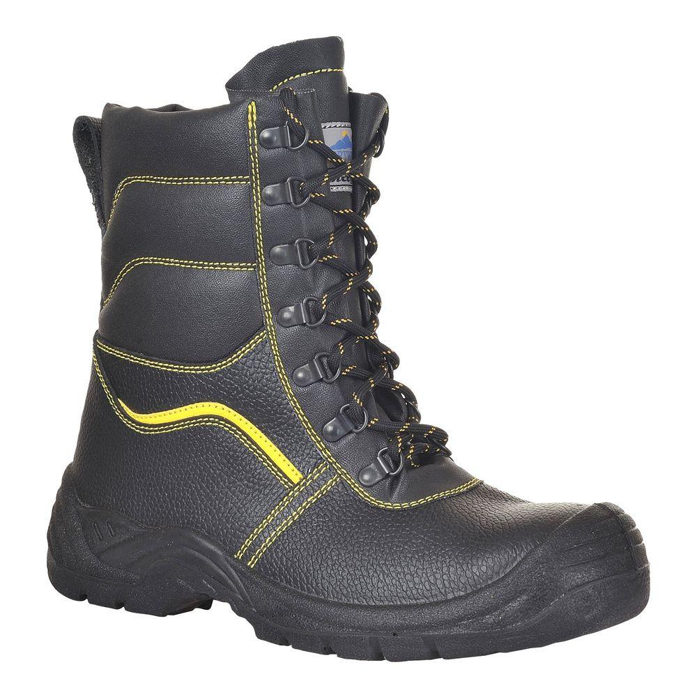 Chaussures de sécurité Montantes Portwest S3 Brodequin fourrées Steelite - Noir