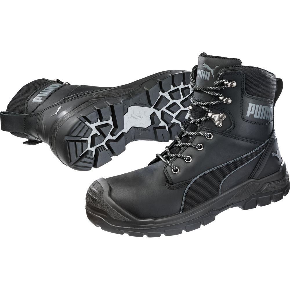 Chaussures de sécurité montantes Puma Conquest BLK CTX High S3 WR HRO SRC