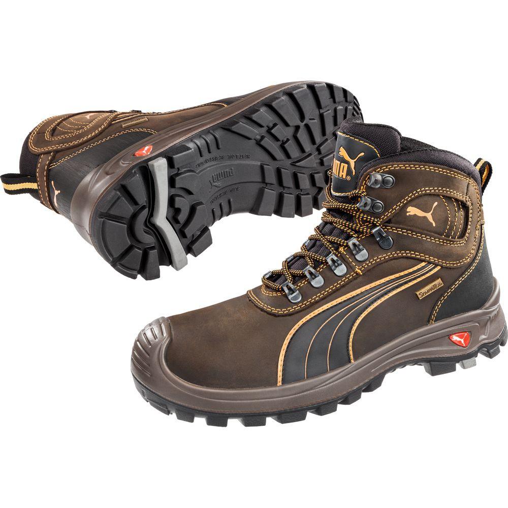 De Sécurité Montantes Chaussures Sierra Hro Nevada S3 Mid Wr Puma Src vmw0ONn8