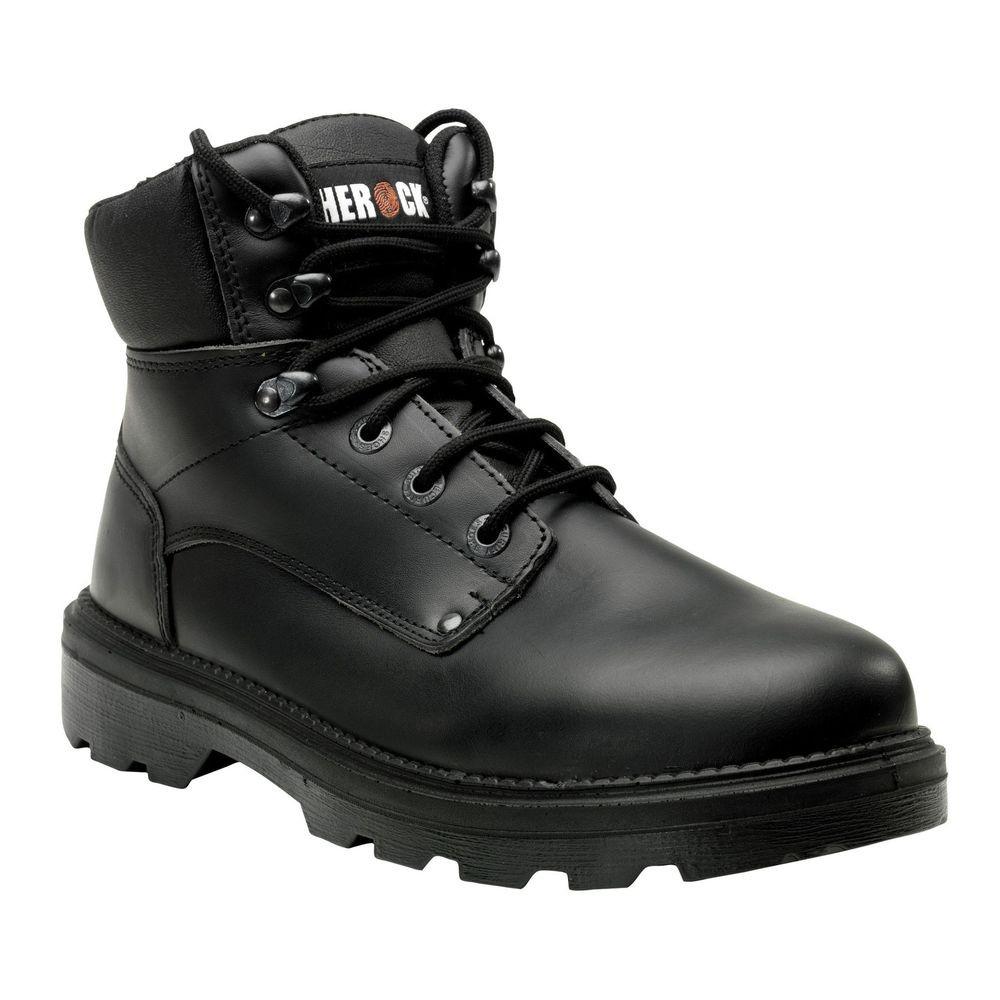 Chaussures de sécurité montantes S3 San Remo Herock - Noir