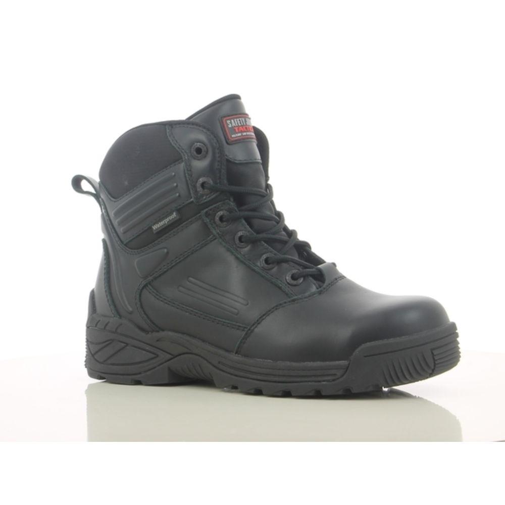 Chaussures de sécurité montantes Safety TROOPER S3 SRC WR - Noir