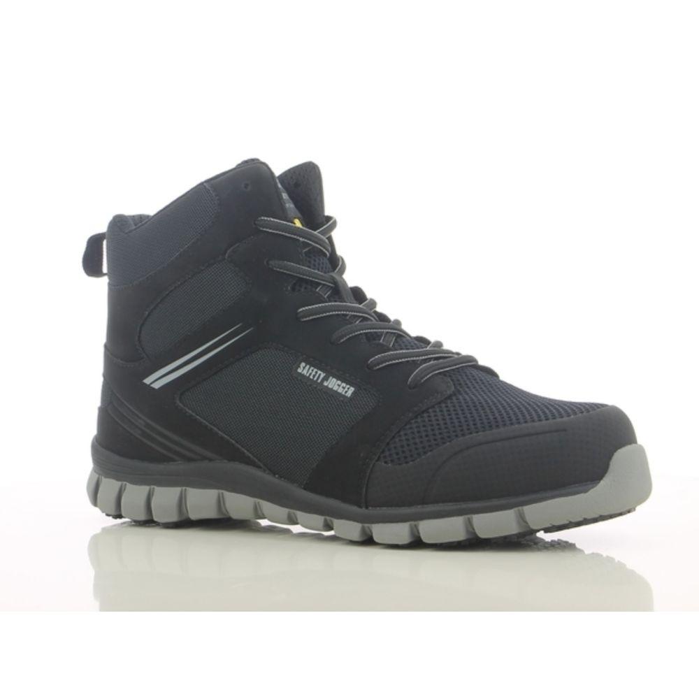 Chaussures de sécurité montantes ultra légères Safety Jogger ABSOLUTE S1P - Noir