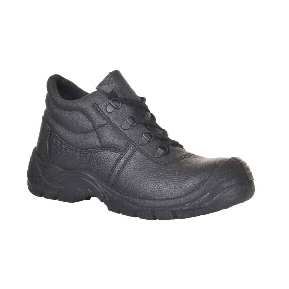 Chaussures de sécurité montantes Portwest Brodequin Steelite S1P surembout renforcé - Noir