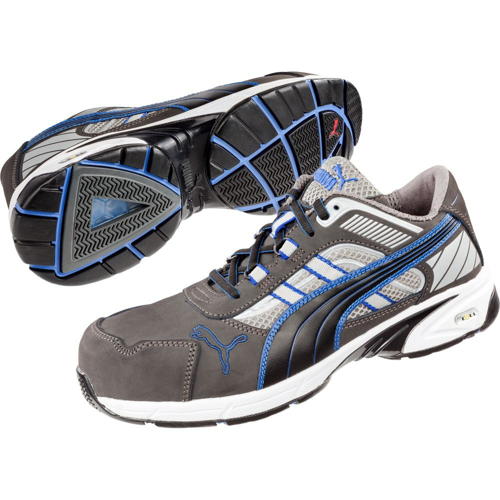 Chaussures de sécurité Puma Pace Blue Low S1P HRO SRA