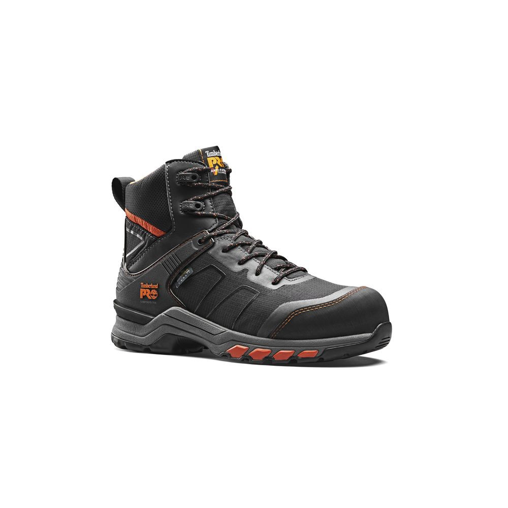 Chaussures de sécurité S3 HRO SRC ESD Timberland PRO HYPERCHARGE TEXTILE - Noir