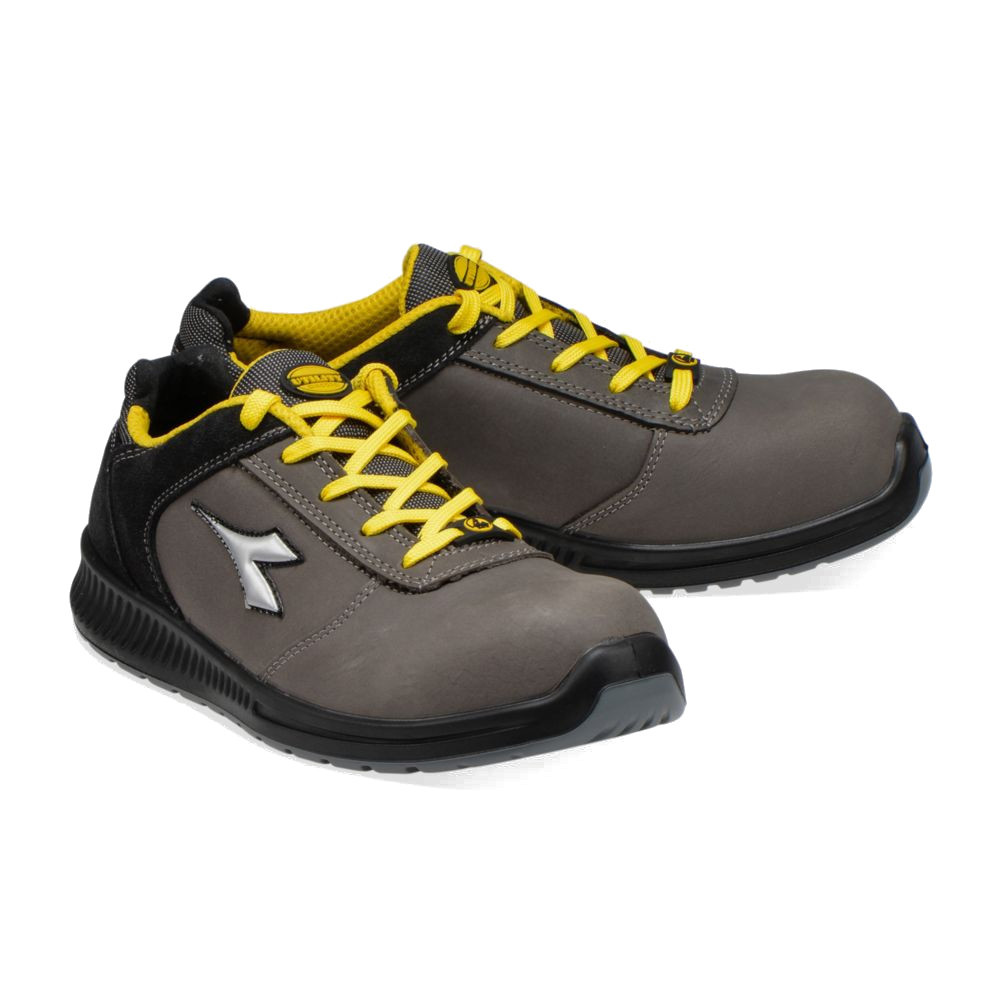 Chaussures de sécurité basses Diadora D-FORMULA S3 SRC ESD - Gris