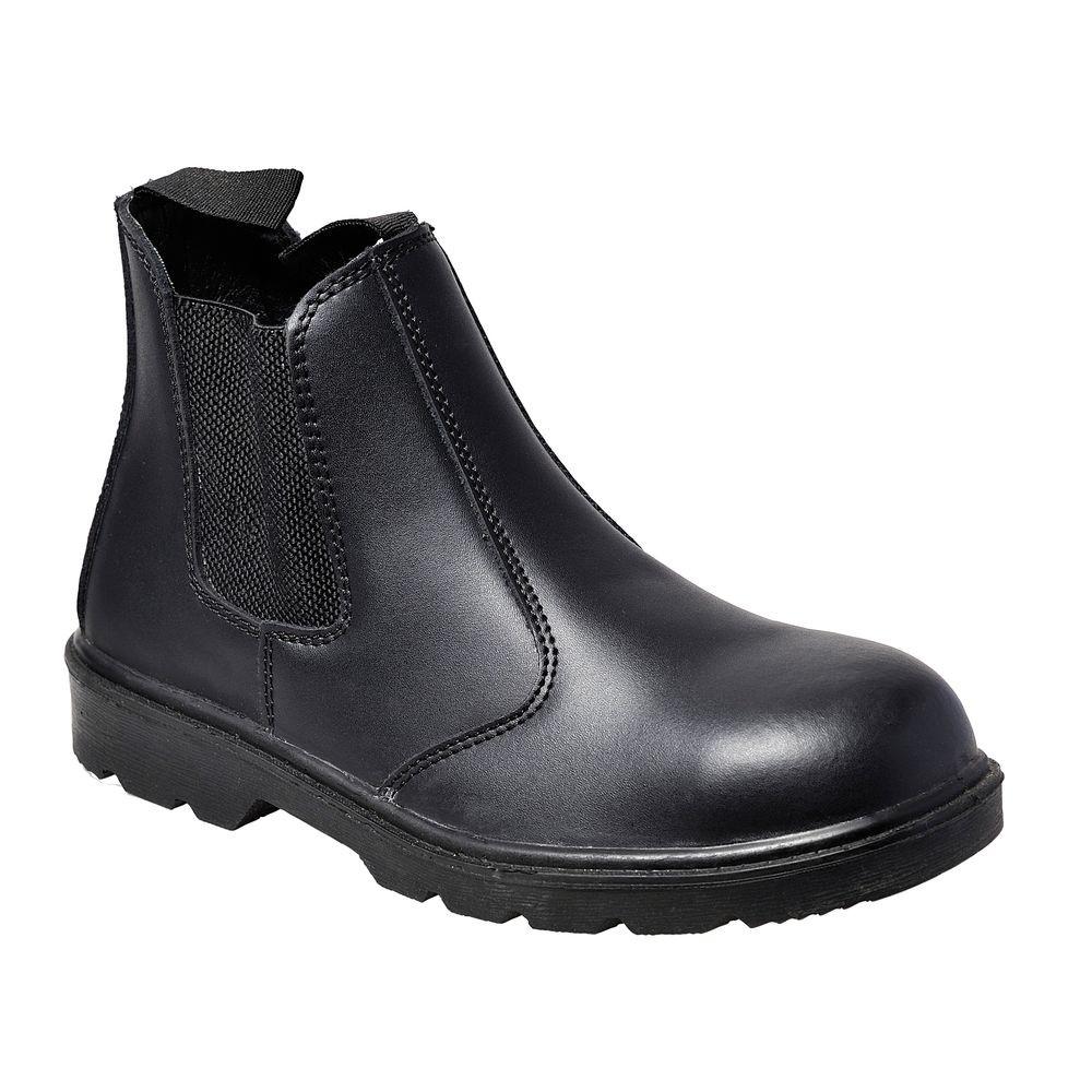 Chaussures de travail montantes Portwest S1P Bottillon Steelite Dealer - Noir