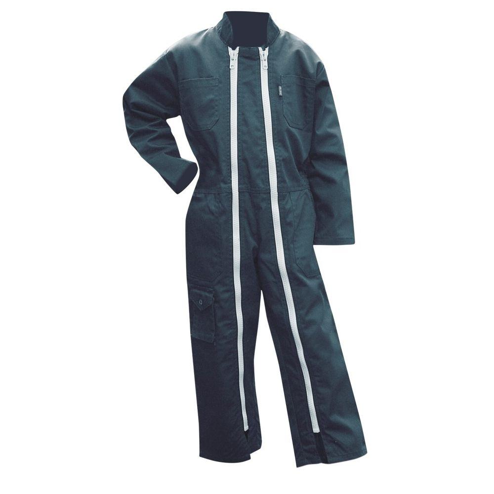 Combinaison de travail enfant double zip POUSSIN LMA - Combinaison de travail enfant double zip Poussin LMA
