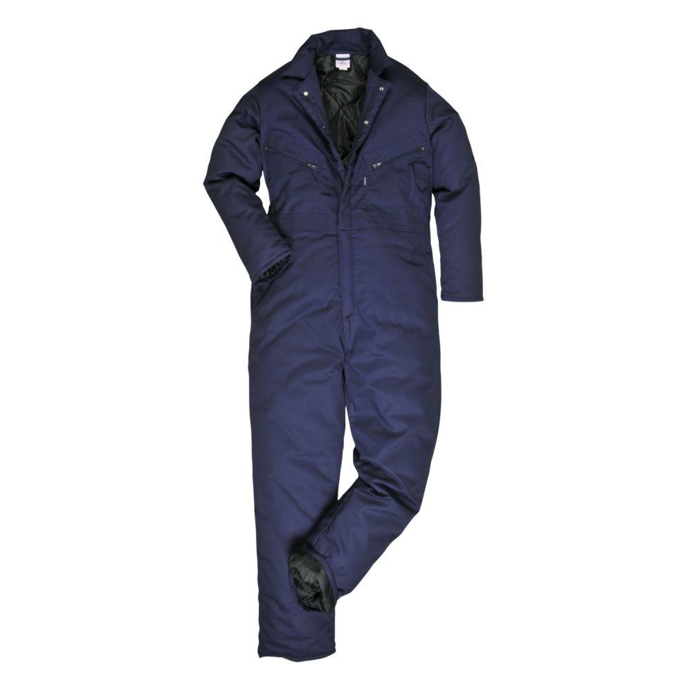 Combinaison de travail matelassée Portwest Orkney - Bleu Marine