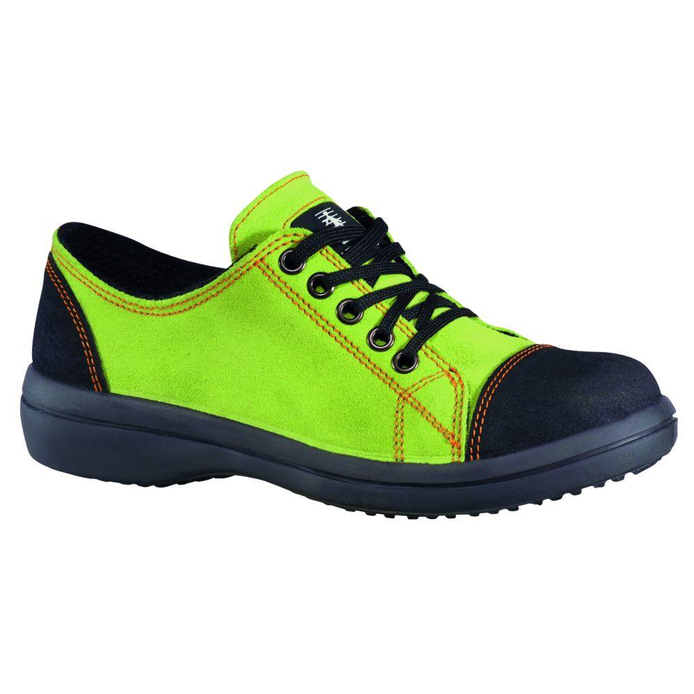 Chaussure de sécurité basse femme Lemaitre VITAMINE S2 SRC - Vert