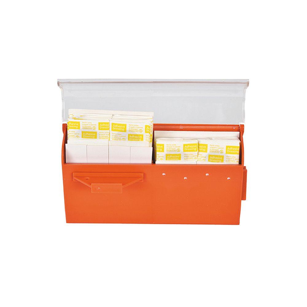Distributeur mural de pansements Farmor - Orange