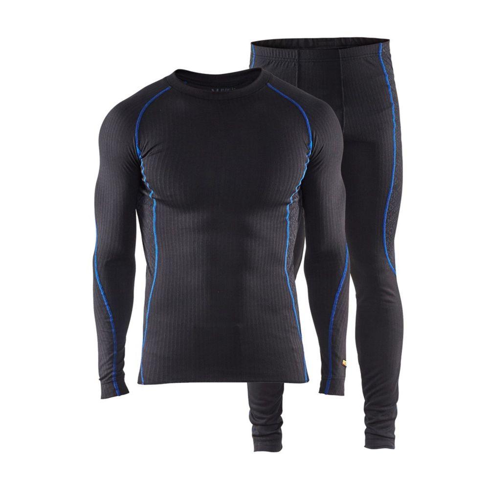 Ensemble sous-vêtements Light Blaklader - Noir / Bleu Royal