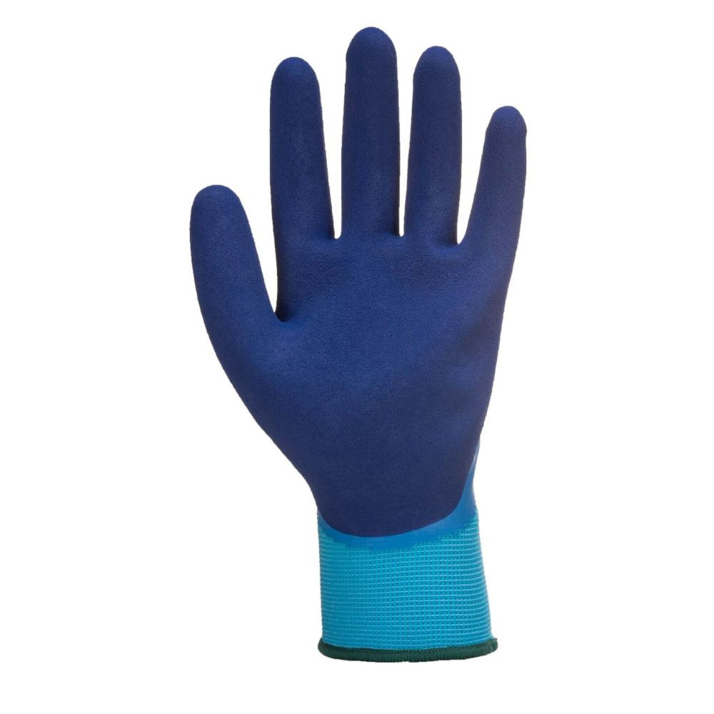 Gant waterproof Portwest Liquid Pro - Bleu