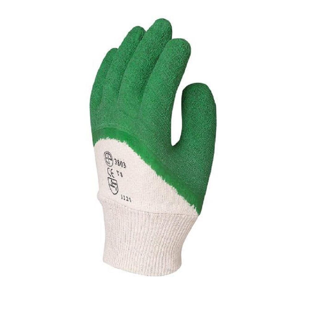 Gants anticoupure latex crêpé Eurotechnique 3805 (lot de 12 paires de gants) - Gants anticoupure latex crêpé Eurotechnique 3805