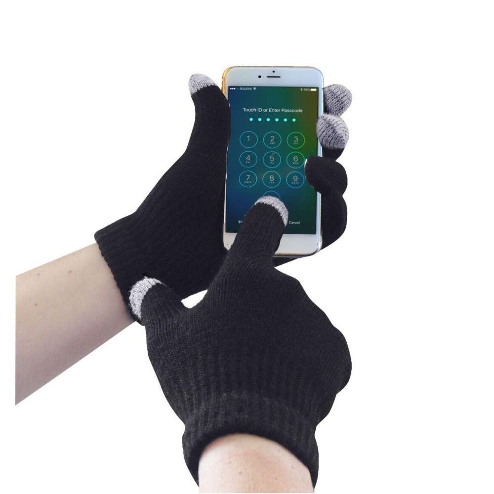 Gants anti-froid Portwest compatible écran tactile - Noir