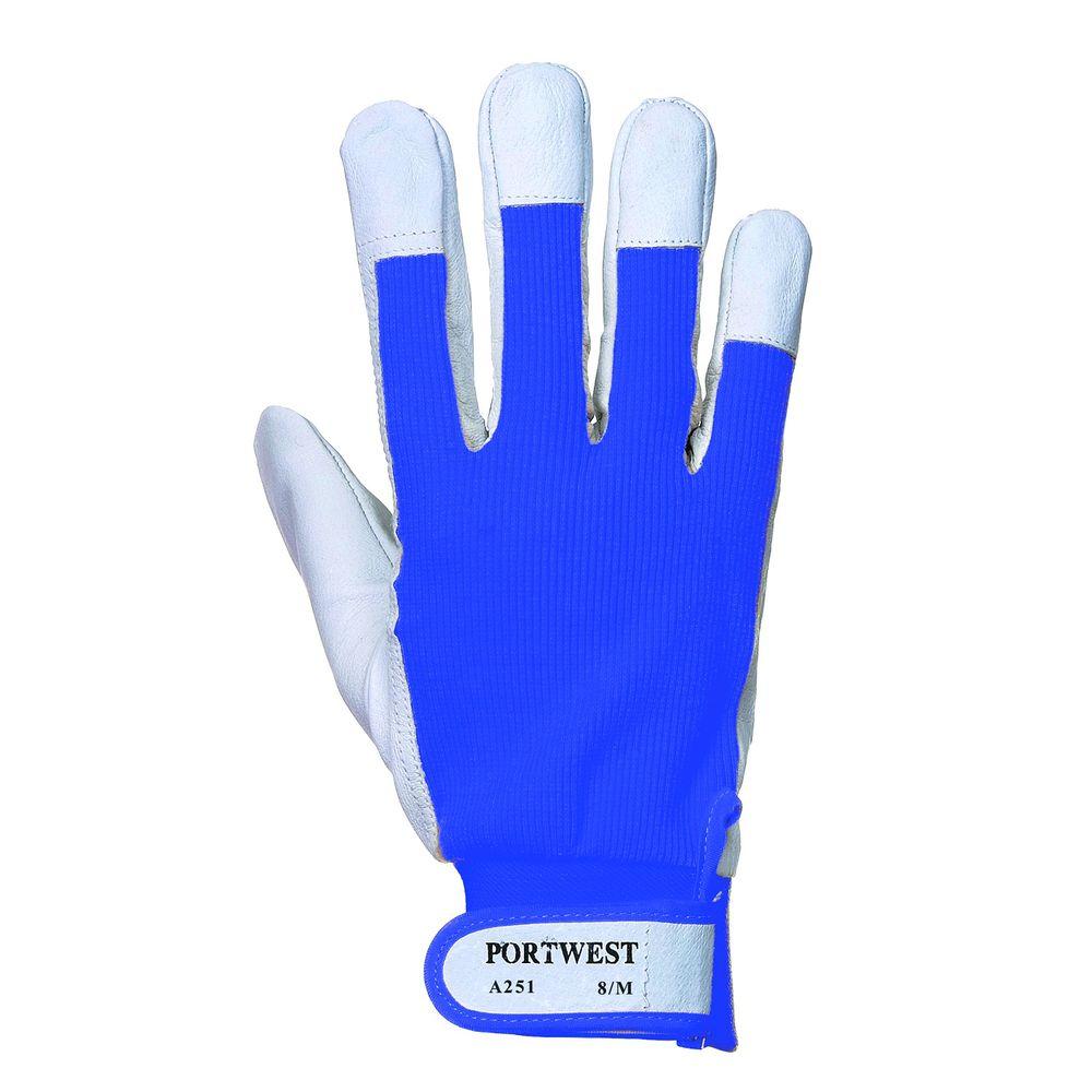 Gants de travail Tergus Micro Fibre Portwest A251 - Bleu