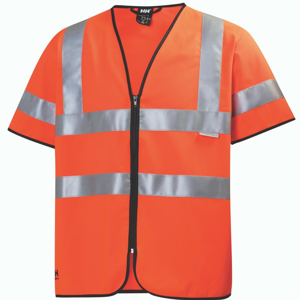 Gilet de sécurité à manches courtes Helly Hansen High Vis - Orange